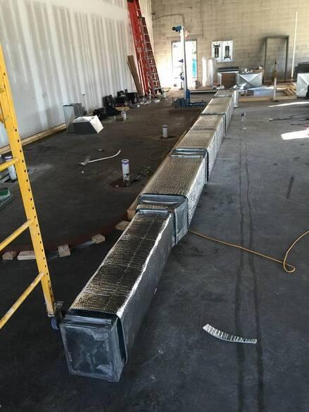 Duct Board Assembly